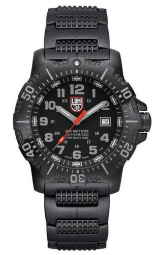 Luminox Sea Anu Steel Black Diver's 200m Watch Xs.4222
