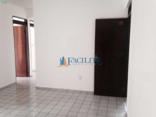 2055 - Apartamento Para Vender No Aeroclube, João Pessoa, Pb - 22004