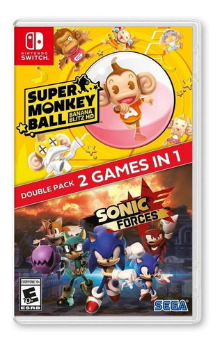 Sonic Forces + Super Monkey Ball - Nintendo Switch