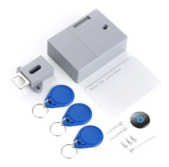 Gaveta Armário Sensor Cartão Bateria Rfid Ic Inteligente