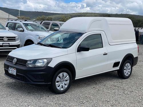 Imagen 1 de 11 de Volkswagen Saveiro 2018 1.6 Starline Ac Mt