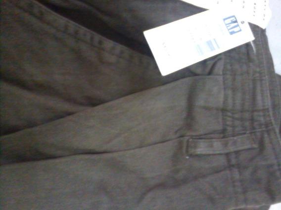 Pantalón Gap Para Caballero, En Color Marrón Tabaco Y Nuevo