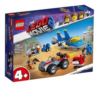 Lego Movie Taller Construye Y Arregla De Emmet Y Benny