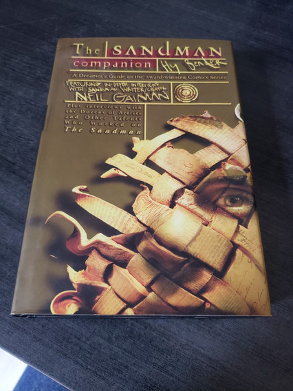 The Sandman Companion - Livro Importado Sobre A Hq