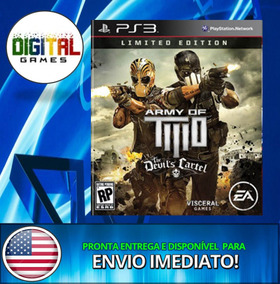 Army Of Two The Devils Cartel - Ps3 - Psn - Promoção