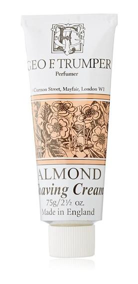 Geo F Trumper Almond Shaving Cream Tube 75g