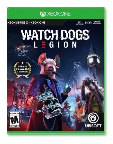 Imagen 1 de 4 de Watch Dogs Legion - Xbox One