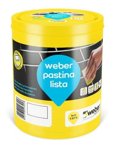 Imagen 1 de 6 de Weber Pastina Lista Para Usar 1 K Ceramica Porcellanato Mm