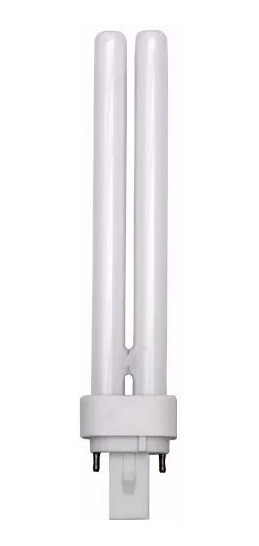 Kit 10 Lampada Fluorescente Compacta Pl 26w 2 Pinos 6400k
