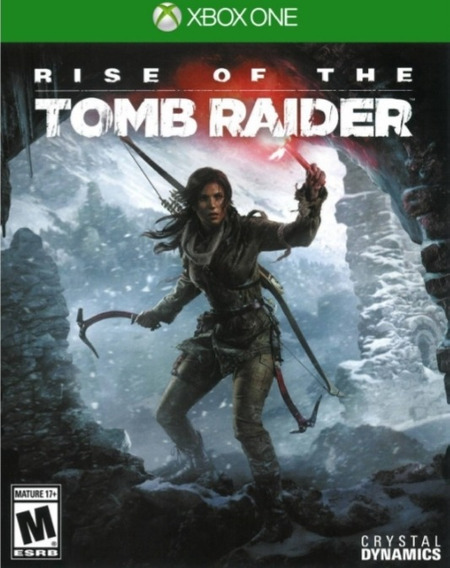 Rise Of The Tomb Raider Mídia Física Novo E Lacrado