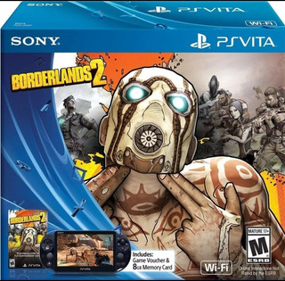 Psvita Slim Edición Borderlands Impecable