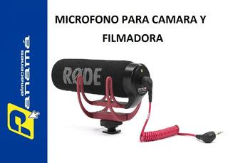 Micrófono Rode De Condensador Direccional De Video Dslr !!!