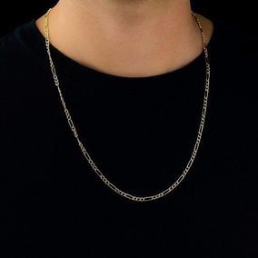 Cordão Prata Italiana 925 70 Cm Elos 3x1 Groumet 13g 4,7mm