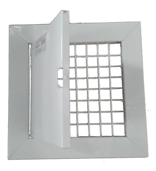 Visor Universal Para Embutir No Muro Ou Portão Aço Agua Luz