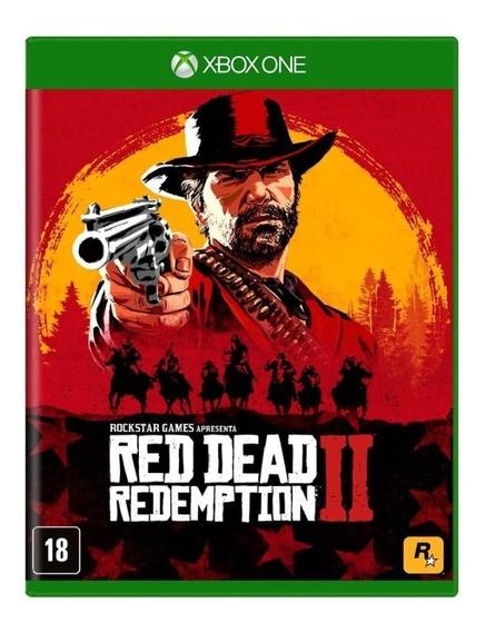 Red Dead Redemption 2 Xbox One Lacrado Novo