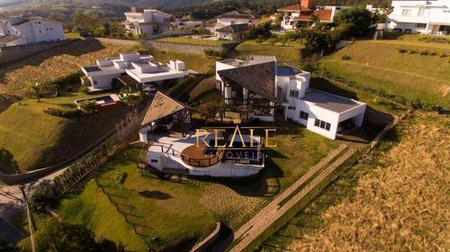 Casa Com 5 Dormitórios À Venda, 760 M² Por R$ 2.700.000,00 - Condomínio Jardim Primavera - Louveira/sp - Ca1186