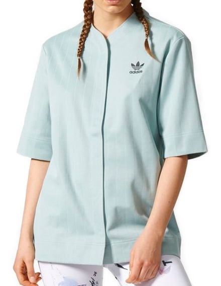 Playera Atletica Originals Baseball Mujer adidas Cf1179