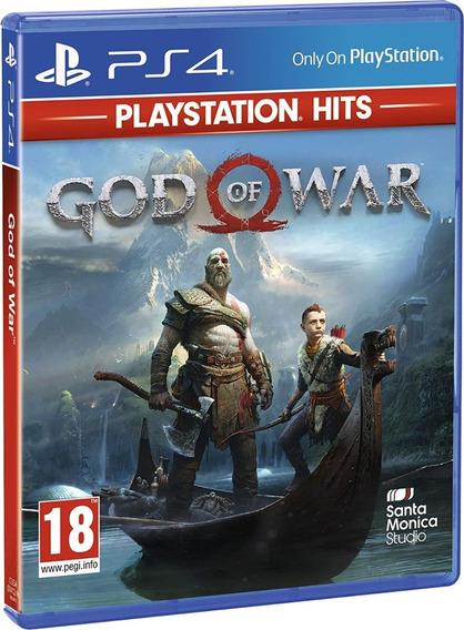 Jogo God Of War Ps4 Mídia Física Envio Promoção