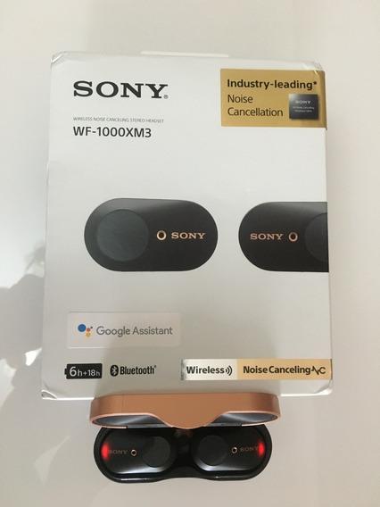 Sony Wf -1000xm3 True Wireless Com Cancelamento Ruido Ativo