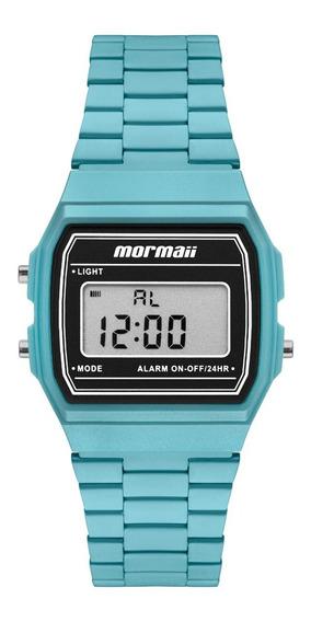 Relógio Mormaii Unissex Vintage Azul Mojh02bm/4a