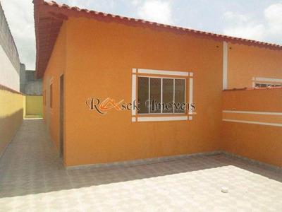 Casa Com 2 Dorms, Jardim Grandesp, Itanhaém - R$ 199.900,00, 65m² - Codigo: 134 - V134