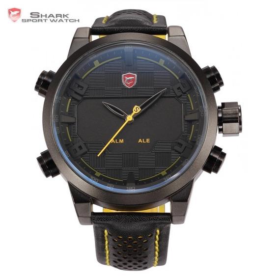 Relógios Masculinos Shark Original Pronta Entrega