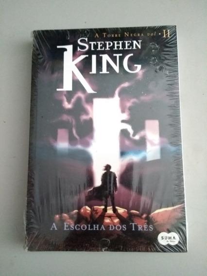 Livro Escolha Dos Três - Série Torre Negra, Vol 2.