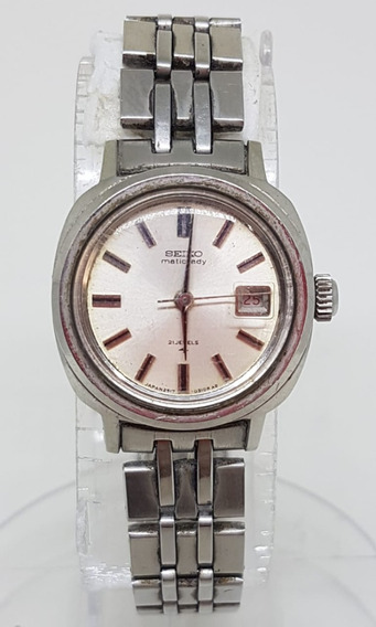 Relogio Vintage Pulso Seiko Matic Lady 2517 3201 Japan 24mm