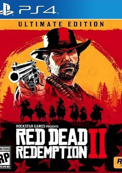 Red Dead Redemption 2 Ps4 Mídia Física Envio Imed