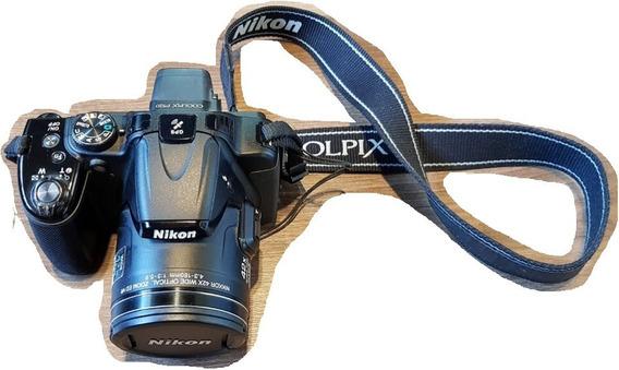 Câmera Digital Nikon Coolpix P520 18.1 Mp Zoom 42x Full Hd