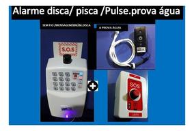 Alarme Cuidado Idoso +1 Controle+ Botão Panico Emergência