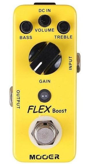 Pedal Mooer Flex Boost | Ganho E Boost | Para Guitarra