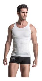 Maxft Camiseta Faja Modela Reduce Abdomen Playera Gym Hombre