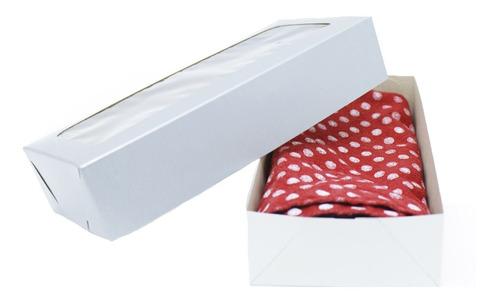 Caixa De Papel Para Lembrancinhas - Montável Com Visor Prata