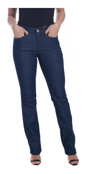 Calça Jeans Osmoze Mid Rise Slim 23132 Un Azul