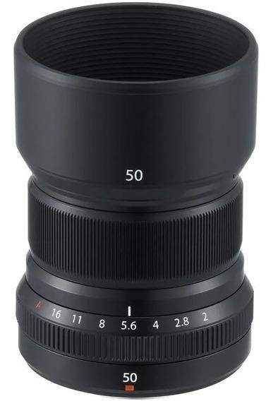 Objetiva Fujifilm Xf 50mm F2 R Wr - Preto / Fuji 50mm F2