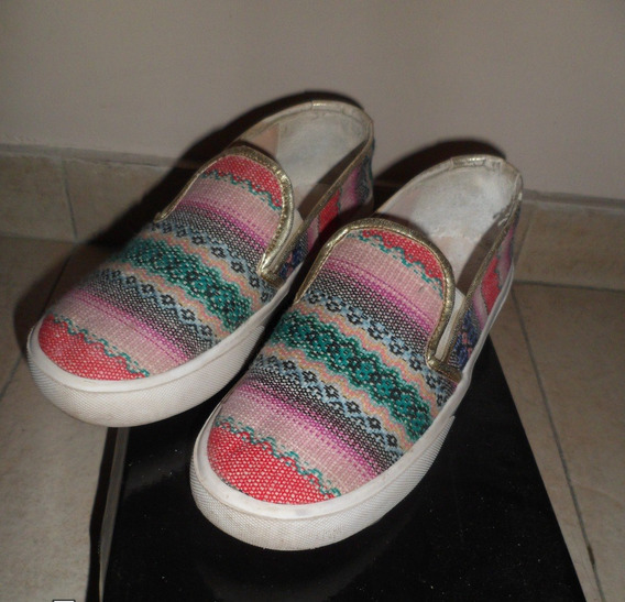 Panchas T.36 Multicolor Impecables