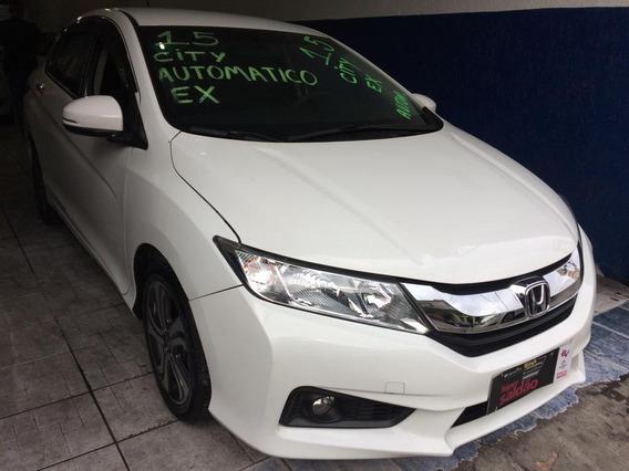 Honda City Ex 1.5 Flex Automatico 2015