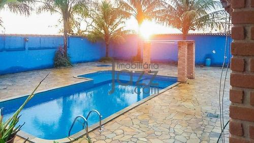 Chácara Com Casa 3 Dormitórios À Venda, 2.800 M² Por R$ 600.000 - Recanto Do Bosque - Monte Mor/sp - Ch0516