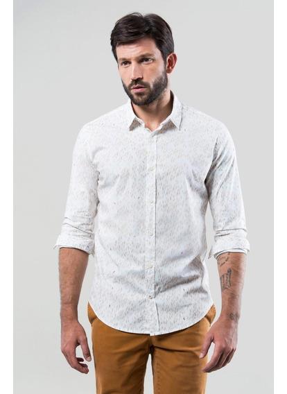 Camisa Pf Folhagem Bicolor Reserva