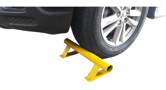 Limitador De Vaga Garagem E Estacionamento / Bate Pneu