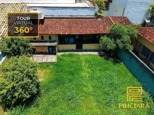 Terreno Com Tour Virtual 360° À Venda, 349 M² Por R$ 850.000 - São Francisco - Niterói/rj - Te0014
