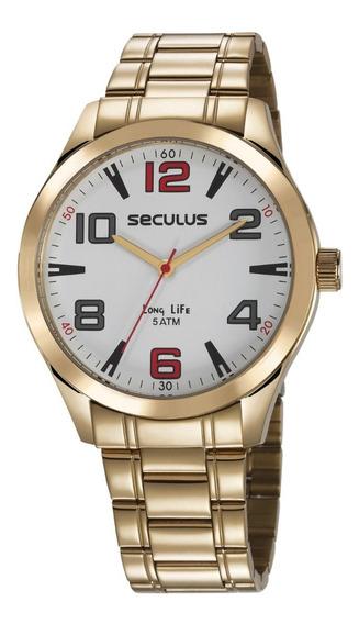 Relógio Masculino Analógico Seculus 23654gpsvda2