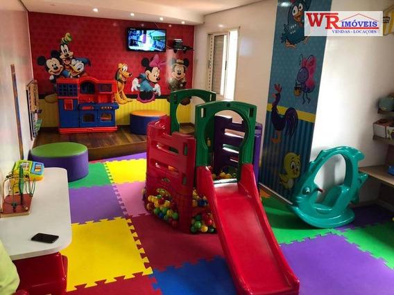 Apartamento Com 3 Dormitórios À Venda, 63 M² Por R$ 355.000 - Piraporinha - Diadema/sp - Ap2739