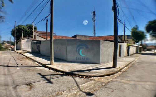 Terreno Para Alugar, 130 M² Por R$ 2.500,00/mês - Monte Castelo - São José Dos Campos/sp - Te0094