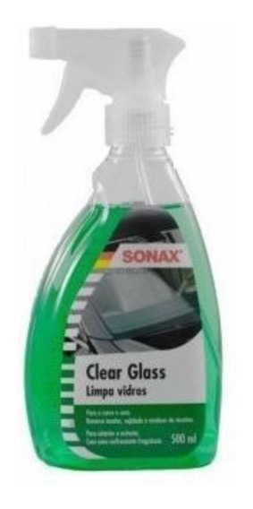 Clear Glass Sonax Limpa Vidros 500ml