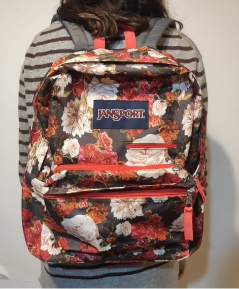 Mochila Jansport Floreada