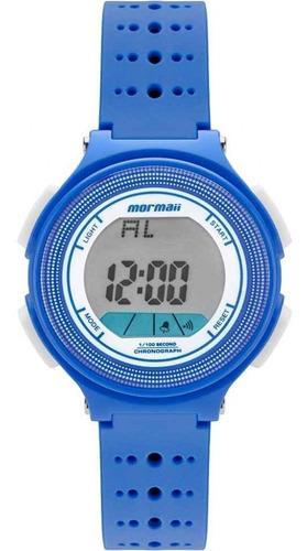 Relógio Mormaii Infantil Azul 1 Ano De Garantia Original