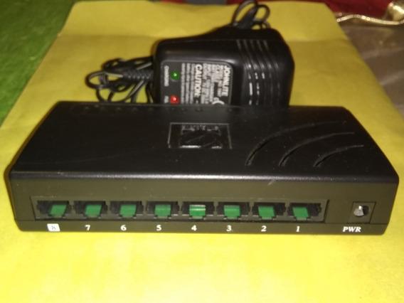 Switch Encore 8 Puertos Enh908-nwy 10-100 Rj45 Red Xtc