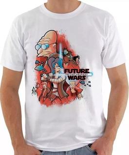 Camiseta Camisa Futurama Star Wars Seriado Filme Thug Life